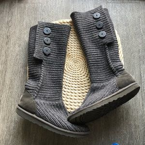 Ugg cardigan knit boot 8